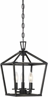 Savoy House 3-320-3-44 Townsend Matte Black 10  Foyer Lighting Fixture