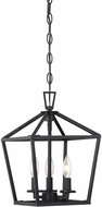 Savoy House 3-320-3-89 Townsend Matte Black 10  Entryway Light Fixture