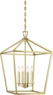 Savoy House 3-321-4-322 Townsend Warm Brass 17  Foyer Lighting Fixture