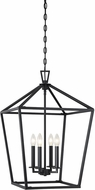 Savoy House 3-321-4-89 Townsend Matte Black 17  Foyer Lighting