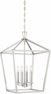 Savoy House 3-321-4-SN Townsend Satin Nickel 17  Foyer Light Fixture