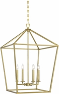 Savoy House 3-322-6-322 Townsend Warm Brass 24  Entryway Light Fixture