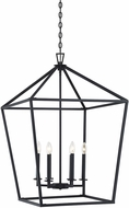 Savoy House 3-322-6-89 Townsend Matte Black 24  Foyer Light Fixture