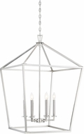 Savoy House 3-322-6-SN Townsend Satin Nickel 24  Foyer Lighting Fixture