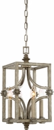 Savoy House 3-4302-4-242 Structure Aged Steel Foyer Light Fixture