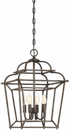 Savoy House 3-550-4-32 Howell Artisan Rust 14  Foyer Lighting