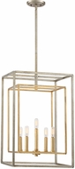 Savoy House 3-822-5-212 Berlin Argentum and Gold 16 Entryway Light Fixture