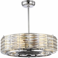Savoy House 30-333-FD-11 Taurus Contemporary Polished Chrome 29.5 Home Ceiling Fan