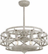 Savoy House 34-FD-123-155 Colonade Contemporary Provence With Gold Accents LED Home Ceiling Fan