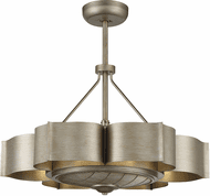Savoy House 39-FD-125-53 Stockholm Modern Silver Patina LED Home Ceiling Fan