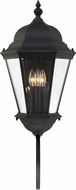 Savoy House 5-1300-BK Wakefield Traditional Textured Black Exterior 31 Wall Lighting Fixture