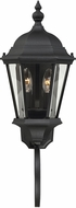 Savoy House 5-1301-BK Wakefield Traditional Textured Black Exterior 25 Wall Sconce Light