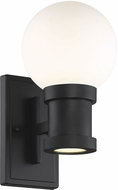 Savoy House 5-22000-BK Marion Contemporary Black LED Exterior 6 Wall Sconce Lighting