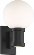 Savoy House 5-22001-BK Marion Modern Black LED Outdoor 8 Wall Mounted Lamp