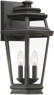 Savoy House 5-23002-141 Holbrook Textured Bronze With Gold Highlights Outdoor 10.5 Wall Light Fixture