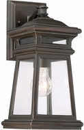Savoy House 5-240-213 Taylor English Bronze w/ Gold Outdoor Lamp Sconce