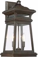 Savoy House 5-242-213 Taylor English Bronze w/ Gold Outdoor Wall Light Fixture