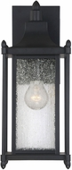 Savoy House 5-3451-BK Dunnmore Black Exterior 16 Wall Sconce Light