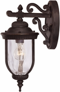 Savoy House 5-60320-186 Castlemain Traditional Black w/ Gold Outdoor 6.5 Wall Sconce Lighting