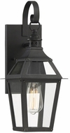 Savoy House 5-720-153 Jackson Black With Gold Highlighted Exterior Sconce Lighting