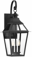 Savoy House 5-722-153 Jackson Black With Gold Highlighted Exterior Lighting Sconce
