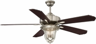 Savoy House 52-135-5CN-SN Trudy Satin Nickel Interior / Exterior 52  Ceiling Fan