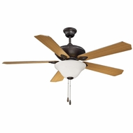 Savoy House 52-160-5RV-13 Corvalis English Bronze Fluorescent 52  Home Ceiling Fan