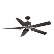Savoy House 52-200-5BZ-MBCH Wasp Modern Metallic Bronze/Chrome LED 52  Ceiling Fan