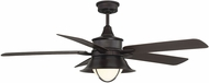 Savoy House 52-625-5CN-13 Hyannis English Bronze Fluorescent Outdoor Home Ceiling Fan