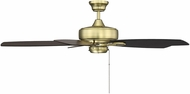Savoy House 52-830-5RV-148 Windstar Estate Brass Ceiling Fan