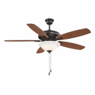 Savoy House 52-831-5RV-13 Mystique English Bronze 52  Home Ceiling Fan