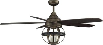 Savoy House 52-840-5CN-196 Alsace Reclaimed Wood Indoor / Outdoor Ceiling Fan
