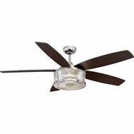 Savoy House 56-180-5CN-109 Phoebe Polished Nickel LED 56  Home Ceiling Fan