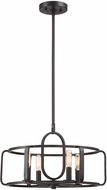 Savoy House 6-1182-4-13 Santina Contemporary English Bronze Pendant Light Fixture
