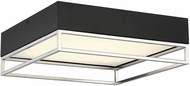 Savoy House 6-2190-14-SN Creswell Contemporary Satin Nickel LED Flush Mount Lighting