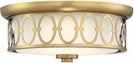 Savoy House 6-2390-14-322 Sherrill Warm Brass LED Ceiling Light