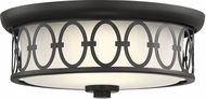 Savoy House 6-2390-14-89 Sherrill Matte Black LED Ceiling Light Fixture