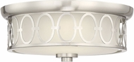 Savoy House 6-2390-14-SN Sherrill Satin Nickel LED Ceiling Lighting Fixture