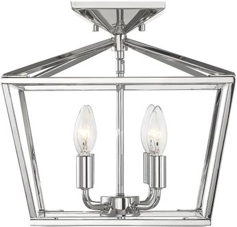 Savoy House 6-328-4-109 Townsend Polished Nickel Ceiling Light Fixture