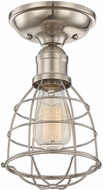 Savoy House 6-4135-1-SN Scout Satin Nickel Home Ceiling Lighting