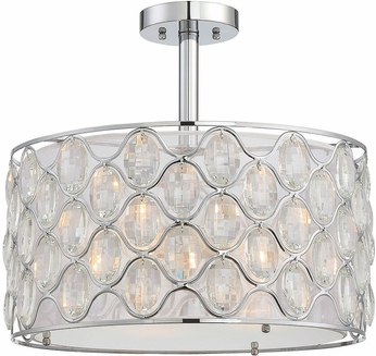 Savoy House 6-6063-3-11 Opus Polished Chrome Overhead Lighting