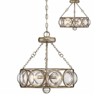 Savoy House 6-6702-3-114 Warwick Contemporary Brittannia Gold Hanging Pendant Lighting  Ceiling Light