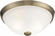 Savoy House 6-780-11-322 Flush Mount Warm Brass 11  Ceiling Lighting
