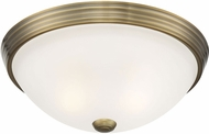 Savoy House 6-780-13-322 Flush Mount Warm Brass 13  Ceiling Light Fixture