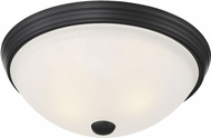 Savoy House 6-780-13-BK Flush Mount Black 13  Ceiling Lighting Fixture