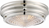 Savoy House 6-9069-13-109 Benton Contemporary Polished Nickel Flush Lighting