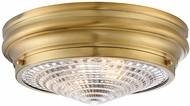 Savoy House 6-9069-13-322 Benton Contemporary Warm Brass Overhead Lighting