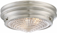 Savoy House 6-9069-13-SN Benton Modern Satin Nickel Flush Mount Light Fixture