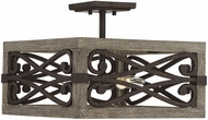 Savoy House 6-9181-4-101 Amador Noblewood w Iron Ceiling Light Fixture  Pendant Lighting
