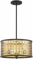 Savoy House 6-9903-3-147 Pelham Castillo Drum Lighting Pendant